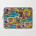 ALL EYES ON YOU Laptop Sleeve