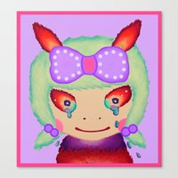 Sweet Girl Canvas Print