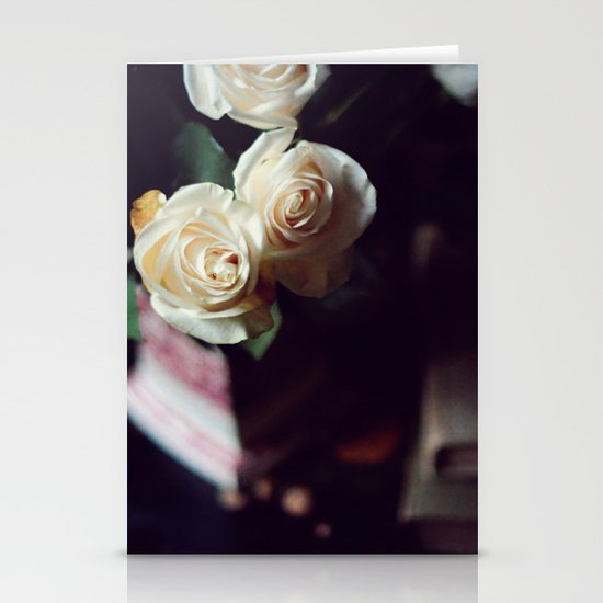 i'd rather have roses Stationery Card