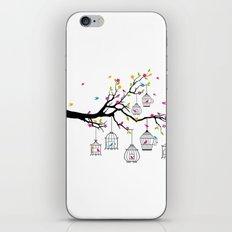 Cute Birds #3 iPhone & iPod Skin
