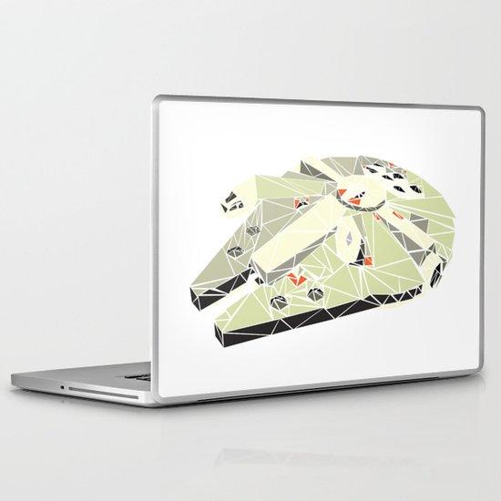 The Millennium Falcon Laptop & iPad Skin