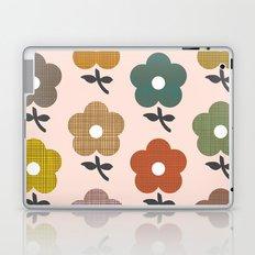 Happy little flower Laptop & iPad Skin
