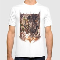The Charge Part 2 Mens Fitted Tee White SMALL