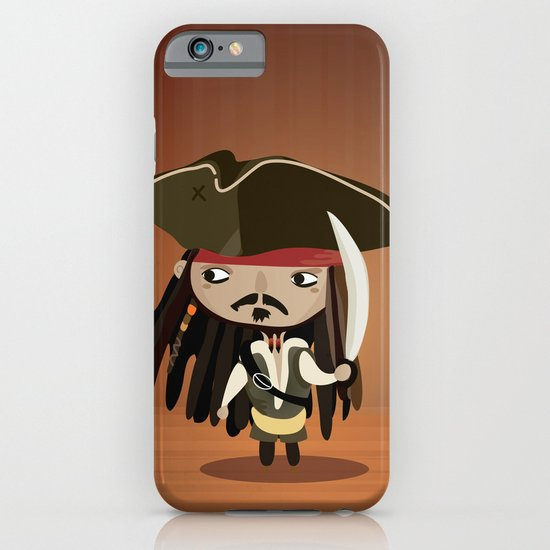 Captain Sparrow iPhone & iPod Case