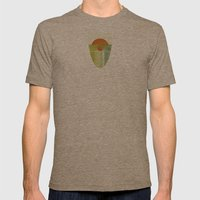 Green 1 | Digital Sessio… Mens Fitted Tee Tri-Coffee SMALL