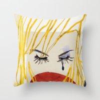 Nur Throw Pillow