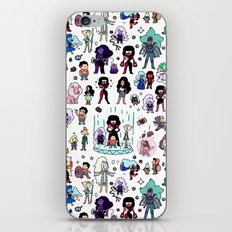 Cute Steven Universe Doodle iPhone & iPod Skin
