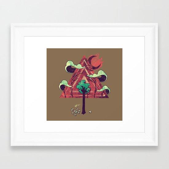 The Evergreen Framed Art Print