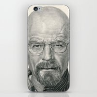 Bryan Cranston ~ Walter White ~ Breaking Bad iPhone & iPod Skin