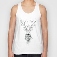 Poetic Deer Unisex Tank Top