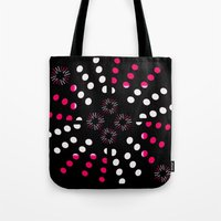 Bursts Galore Tote Bag