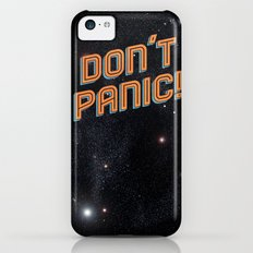 Don't Panic iPhone 5c Slim Case