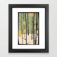 Yeti Dreams Framed Art Print