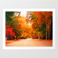 Autumn in the South Art Print