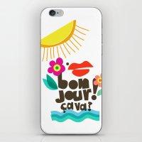 Bonjour! iPhone & iPod Skin