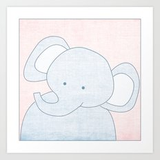 Elephant Jungle Series Print Art Print