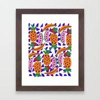 Fruit Party IV Framed Art Print