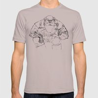 The Fisherman Mens Fitted Tee Cinder SMALL