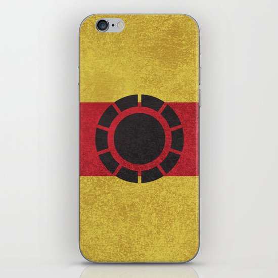 Iron Clade Colors iPhone & iPod Skin