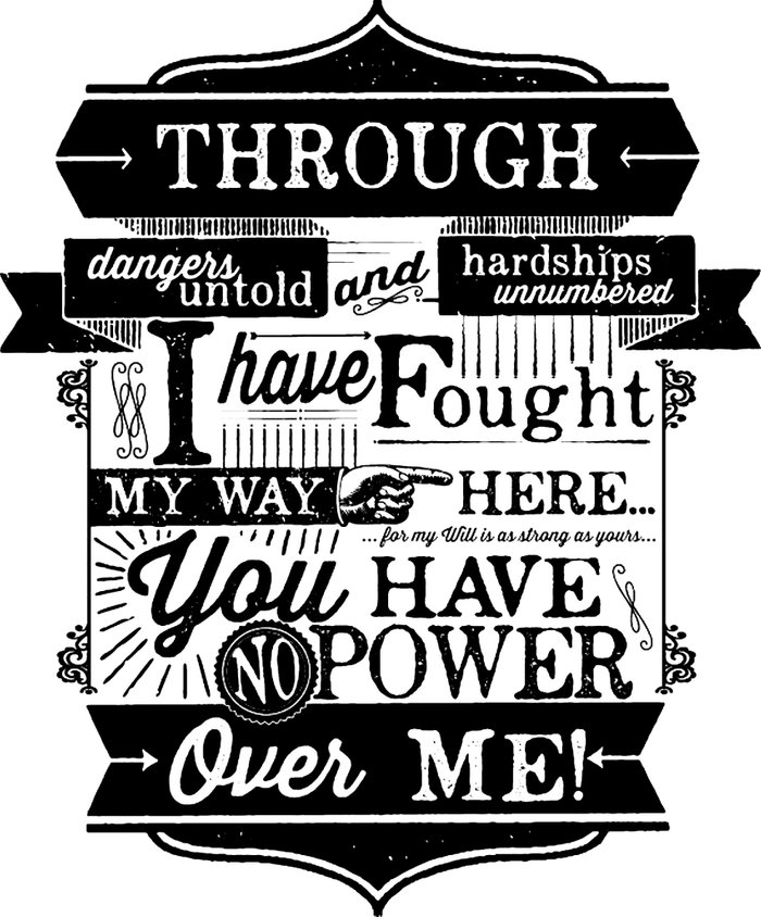 Labyrinth Quote You Have No Power Over Me Art Print by ... Labyrinth Movie Quotes You Have No Power Over Me