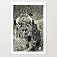 Art Print featuring Lithography 2 by DIVIDUS