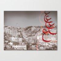 Amman City Canvas Print