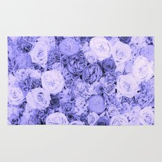 bouquet ver.blue-b Rug