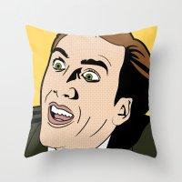 You Don't Say! Throw Pillow