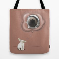 I Want To Be An Astronaut Tote Bag