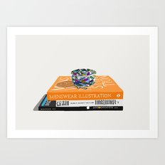 The Stack Art Print