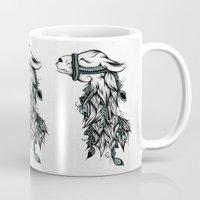 Poetic Llama  Mug