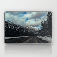 Driving in the North Cascades Laptop & iPad Skin