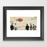 Hometown Framed Art Print