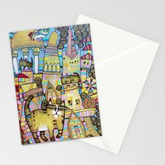 THE CITY OF 100 CATS Stationery Cards