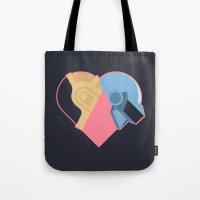 Daft Love Tote Bag