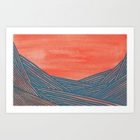 Watercolor 9 Art Print