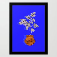 Fig Tree Art Print