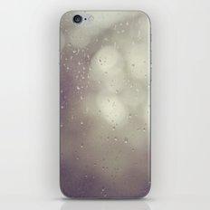 Rain, rain iPhone & iPod Skin