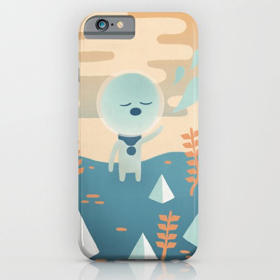 Space Traveler iPhone & iPod Case
