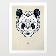 Big Panda Art Print