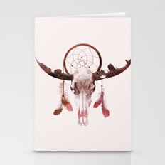 Deadly desert Stationery Cards