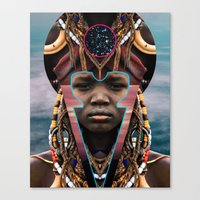 DIVINE OF FORM Canvas Print