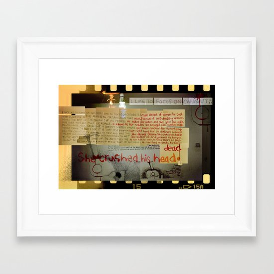 Deborah's Song of Jael (by Jeff Gill) Framed Art Print