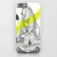 Camping Bear iPhone 6 Slim Case