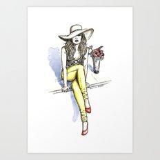 Summer Vogue Art Print