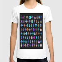 pixel T-shirts featuring Pixel Heroes by Pahito