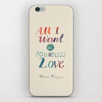 All I Want Is Boundless … iPhone & iPod Skin