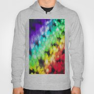 Mouth In Rainbow Colors Hoody