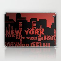 Cities Laptop & iPad Skin