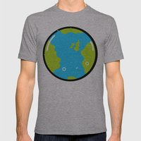 The Earth Mens Fitted Tee Athletic Grey SMALL